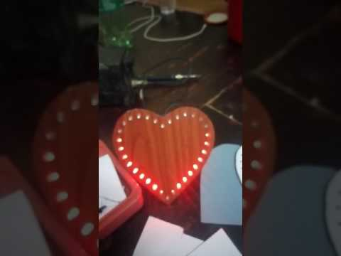 Hướng dẫn làm mạch trái tim đơn giản