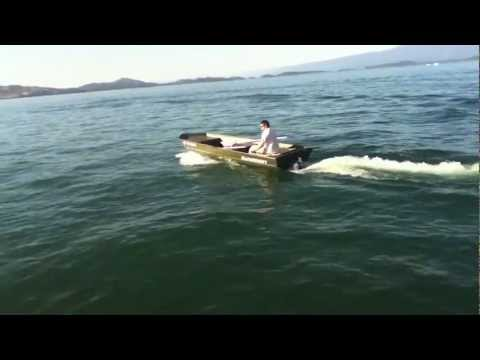 Electric Jet Jon Boat