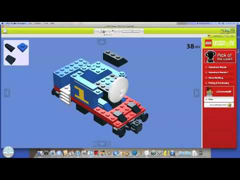 How to build lego thomas the tank engine