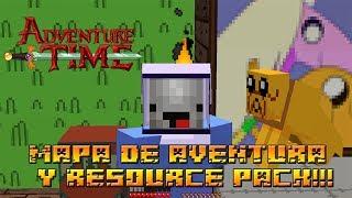 Minecraft Aventura 1.7.2 HORA DE AVENTURA MAPA