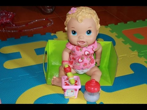 Baby Alive Doll Feeding The Hungry Baby Doll Youtube
