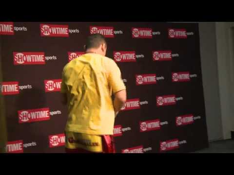 Marcos Maidana - Final Moments Before the Broner Fight - SHOWTIME Boxing