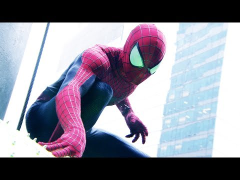 The Amazing Spider-Man 2 at Times Square New Year's Eve - 2014 Movie Trailer Sizzle [HD]