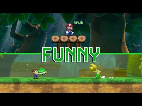 10 Funny Things in Super Mario Maker 2