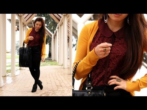 OOTD - Color Blocking for fall