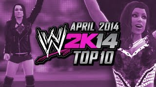 WWE 2K14: Top 10 Divas (April 2014)