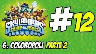 Skylanders Swap Force Walkthrough #12 Coloropoli Parte 2