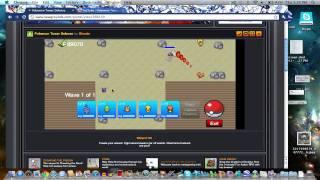 Pokemon Tower Defense: Challenge Mode 1- Pewter Gym Shiny