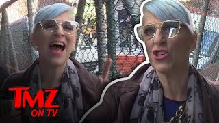 Lisa Lampanelli Tells Us What Made Liza Minnelli Send Her Lawyers After Her | TMZ TV