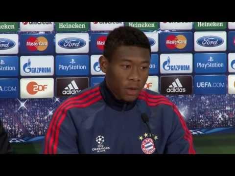 David Alaba: Kein Fan von Pressekonferenzen   FC Bayern München - Real Madrid
