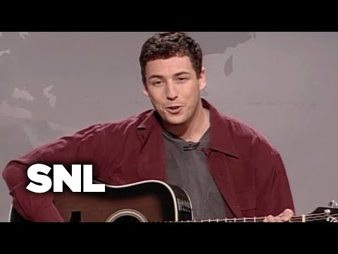 Weekend Update: Adam Sandler and the Hanukkah Song - Saturday Night Live