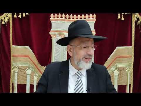 Parashat Matot Massei (Rabbi) Un conflit qui ne finit pas. Léïlouy nichmat de Meir Haïm ben Rahel zal