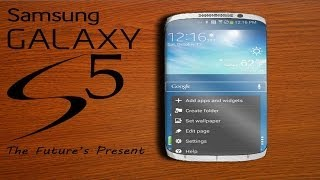 NEW Samsung Galaxy S5 Amazing Curved Display Concept 2014