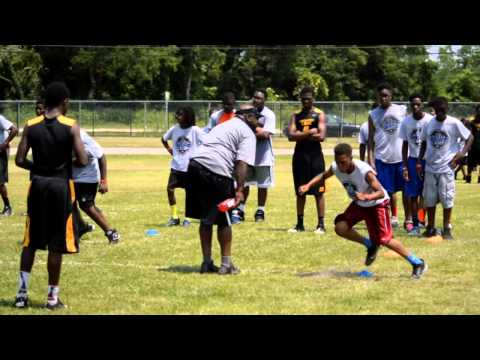 Nick Fairley's Free Football and Cheerleading Camp - 2014