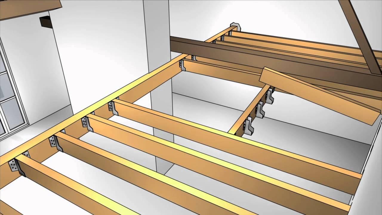 ma maison sagrandit em13 creation dune mezzanine en bois. Black Bedroom Furniture Sets. Home Design Ideas