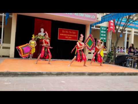 Múa dòng máu lạc hồng - Trường THCS Hồng Hà