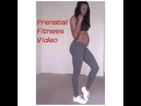 Prenatal Fitness Exercise---Jungle Barbie