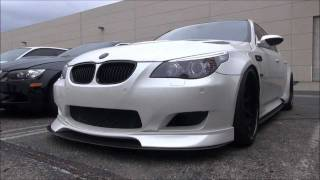INSANELY Tuned E60 BMW M5-Accelerations, Revs, Startups and Walkarounds!!! videos