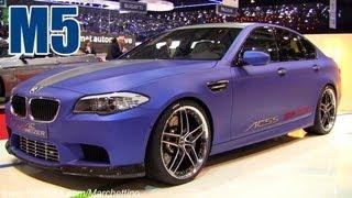 BMW M5 F10 ACS5 by AC Schnitzer - 2012 Geneva Motor Show videos