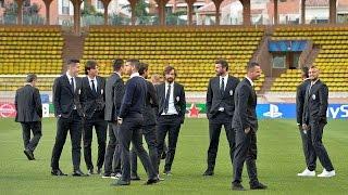 Monaco-Juventus, la vigilia dei bianconeri - The build-up