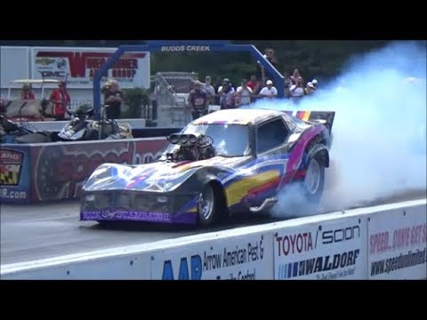 Side by Side Funny Car Action Lege nds at MIR15 Drag Track Action Dreamgoatinc Video Cars