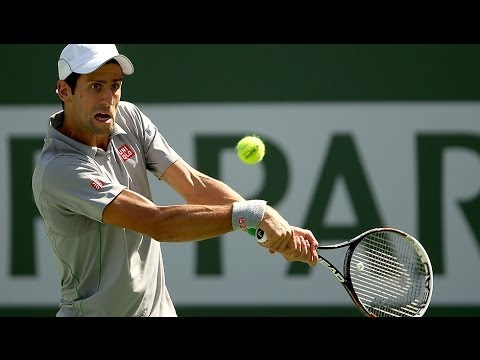 Indian Wells 2014 Final Hot Shot Djokovic