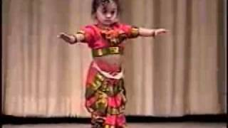 1 year Old Bharata Natyam..