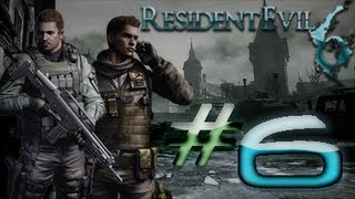 Resident Evil 6 Detonado (Walkthrough) Chris Parte 6 HD
