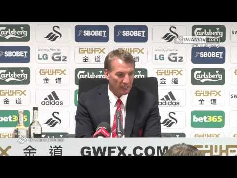 Swansea City Video: Brendan Rodgers post-match press conference