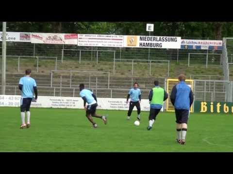 Der SC Victoria vor dem ODDSET-Pokalfinale 2013 | ELBKICK.TV