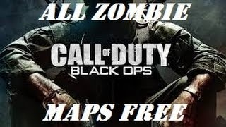 How To Unlock All Zombie Maps (COD Black Ops)