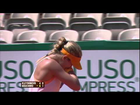 Portugal Open 2014: Shot of the Day - Eugenie Bouchard - Tuesday April 29th