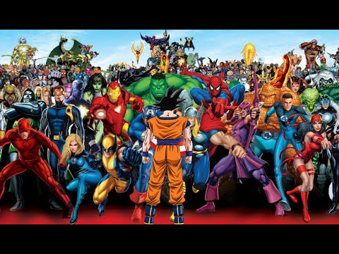 Goku vs Marvel