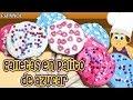 Galletas en palito de azucar  | Espanol Receta para ñinos | Spanish Recipes