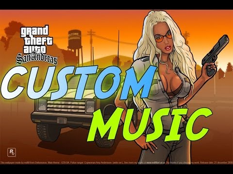How to Put Songs on the Radio Station User Track Player in Grand Theft Auto San Andreas
