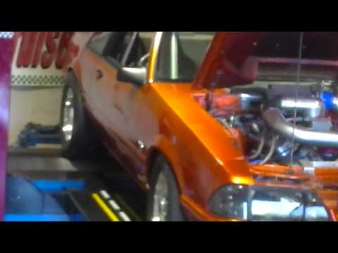 American Petrol Heads: 900hp Foxbory Mustang on the Dyno! Round Four