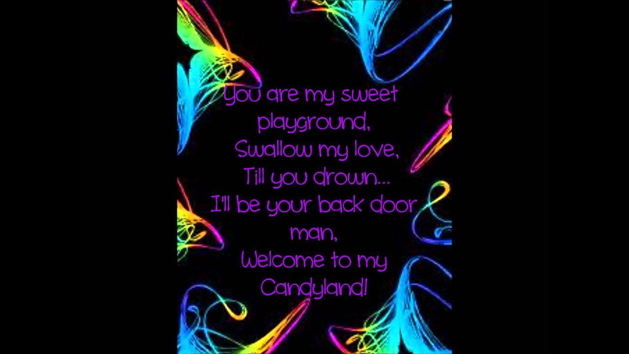 BLOOD ON THE DANCE FLOOR - CANDYLAND ALBUM LYRICS