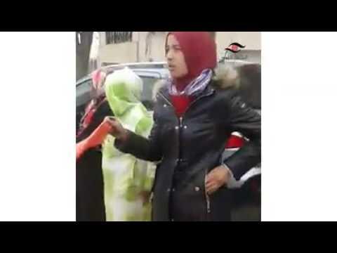 نساء قصر بوزملا ميدلت يظاهرن ضد  عون سلطة