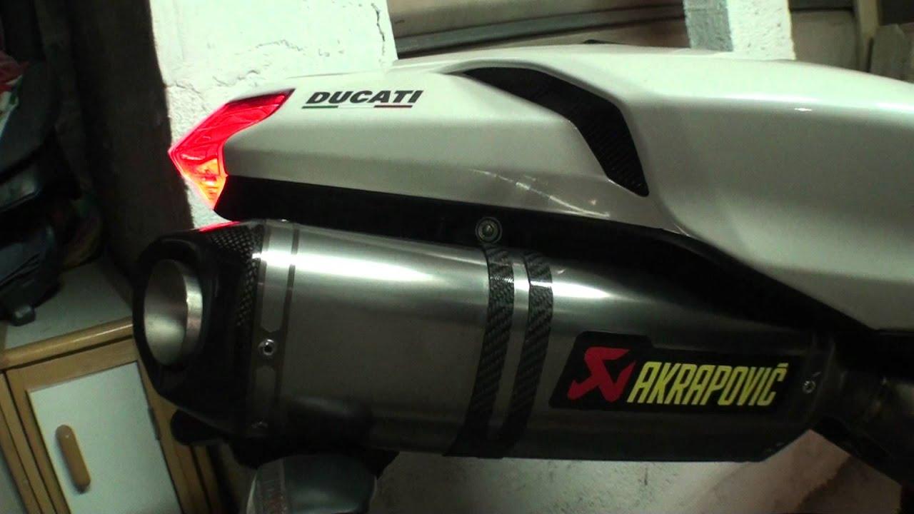 Akrapovic so... Youtube Ducati 1198