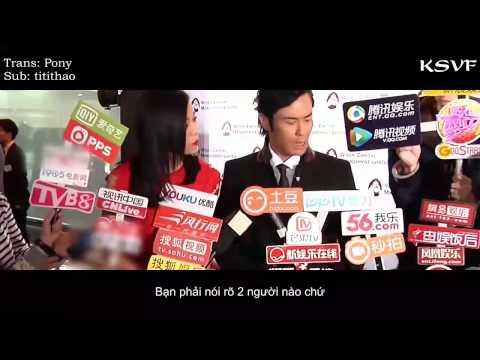 [Vietsub] Phỏng Vấn Trịnh Gia Dĩnh, Hồ Hạnh Nhi sự kiện 18/12/2014