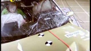 Renault Megane kaza testi - Euro NCAP 2002