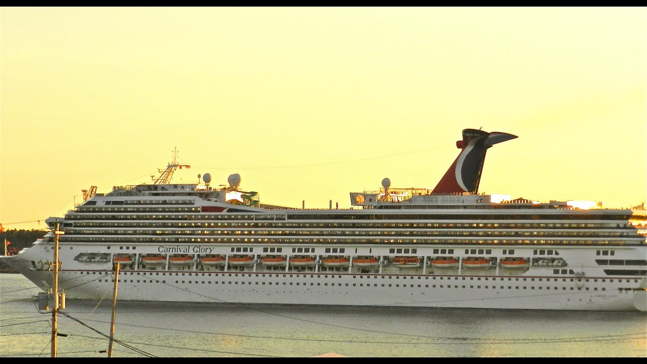 Carnical Glory Full Hd Ship Tour