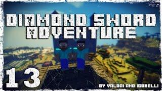 [Coop] Minecraft Diamond Sword Adventure. #13: Кладбище.