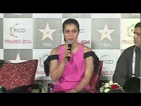 Kajol At FICCI FRAMES 2014