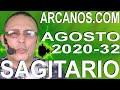 Video Horóscopo Semanal SAGITARIO  del 2 al 8 Agosto 2020 (Semana 2020-32) (Lectura del Tarot)