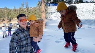 Taking Taika To The Snow!