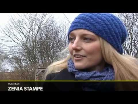 Gravide Zenia Stampe: Jeg må leve med nethadet - DR Nyheder