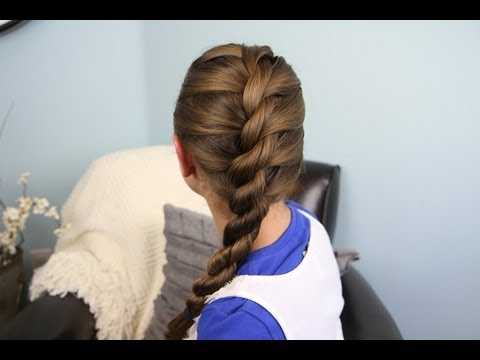 French Twist into Rope Braid | Back-to-School Hairstyles