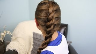 Hairstyle Video On Youtube : ... into Rope Braid Back-to-School Cute Girls Hairstyles - YouTube