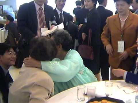 Divided Korean Families: Brief, Emotional Reunions